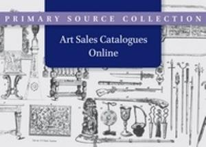 Art Sales Catalogues Online
