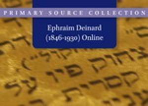 Ephraim Deinard (1846-1930) Online