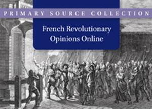 French Revolutionary Opinions Online