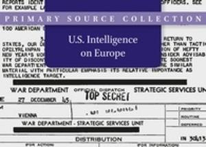 U.S. Intelligence on Europe, 1945-1995